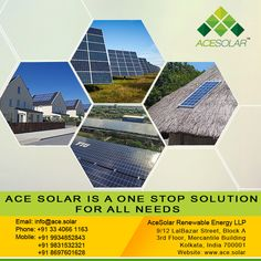 ACE #SOLAR IS A ONE STOP SOLUTION FOR ALL NEEDS. Visit- http://www.ace.solar/