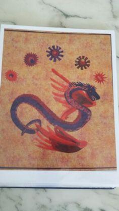 Mexican dragon by bonnie pennybacker