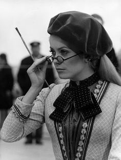 23rd March 1968: French actress Catherine Deneuve