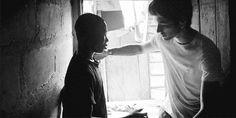 (GIF) forever my favorite Zayn gif. Zayn and Christopher the boy he met in Africa. I cried when I watched the video of zayn meeting him