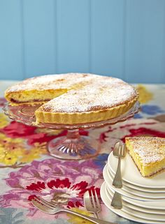 Osterfladen (Swiss Easter tart) recipe. It's a traditional Swiss ...