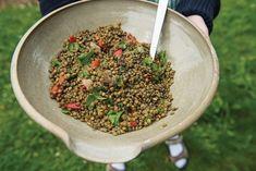 Puy Lentil Salad (Sallad på Puylinser)