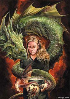 Dragons:  Dragon and Elf.
