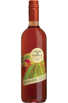 Champs de Florence-vin rosé-seyval noir-Quebec-Canada (15,80$)