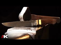 Fabrication d'un couteau en Damas (par Philippe Neige) [2/2] - YouTube