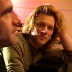Jon Bon Jovi and Tico Torres circa 1994
