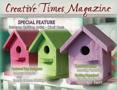 Free Creative Times Magazine with articles, DIY craft tutorials and free patterns.