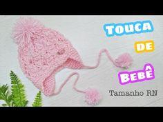 Touca de Bebê com orelhinhas | Ana Alves - YouTube
