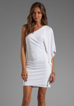 Trina Turk Cosmic Dress in White Wash