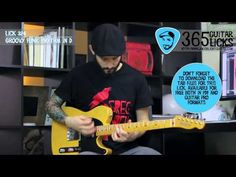 Lick 324/365 - Groovy Funk Rhythm in D | 365 Guitar Licks Project