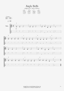 La Brújula Musical: Jingle Bells para Ukelele. Nivel Intermedio. Villa...