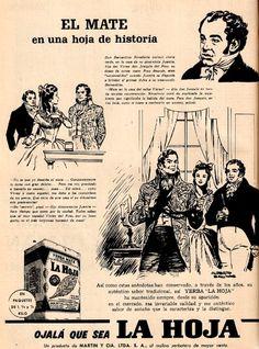 Vintage yerba mate La Hoja.  Revista Labores Julio 1961