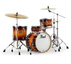 Pearl Vision Birch VBL Bebop Kit Vintage Tobacco  Sizes 12 x 8″ Tom tom 14 x 14″ Floor tom 18 x 14″ Bass drum 14 x 5.5″ Snare drum HPW900 Hardware Pack  £655.00