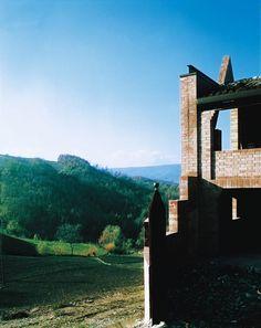Padiglione di Delizia, Varano (1983-86) | Paolo Zermani : Zermani Associati Studio di Architettura | Photo © Luigi Ghirri, Maurizio Negri