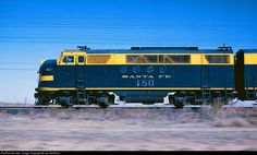 RailPictures.Net Photo: ATSF 180L Atchison, Topeka & Santa Fe (ATSF) FTA at Littlefield, Texas by Joe McMillan