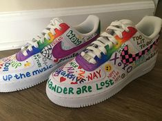 ~ custom sneakers, prints and accessories ~ by Custom Sneakers, Custom Shoes, Sneakers Nike, Custom Af1, Air Force One, Zapatillas Nike Air, Nike Shoes Air Force, Baskets Nike, Aesthetic Shoes
