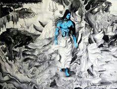 #shiva #parvaty #hindu #art