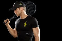 Ralph Lauren biometric smart shirt debuts at US Open Forget fitness bands. Ralph Lauren has introduced an entire fitness shirt stocked with sensors designed to monitor heart rate, stress levels, and movement. Us Open, Camisa Polo Ralph Lauren, Workout Clothes Cheap, Le Tennis, Tennis Open, Polo Shirt, T Shirt, Sports Shirt, Le Polo