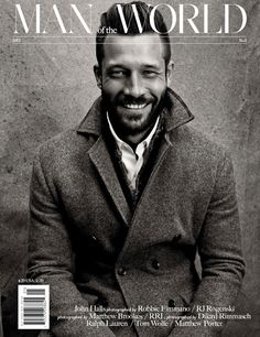 Male Fashion Trends: RJ Rogenski y John Halls en portadas del Fall Fashion Issue de Man of The World
