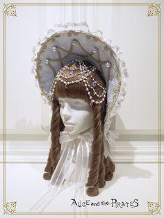 Alice and the Pirates Sugar plum Fairy Queen bonnet