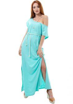 ΦόρεμαMiss Pinky maxi με κοντό μανίκι. Τοφόρεμαέχει ανοιχτή λαιμόκοψη, είναι σε ίσια γραμμή και στο πλάι έχει σκίσιμο Cold Shoulder Dress, Womens Fashion, Dresses, Vestidos, Women's Fashion, Dress, Woman Fashion, Gown, Outfits