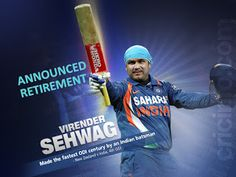 NEWS IN SEARCH: SEHWAG OFFICIAL RETIREMENTFROM INTERNATIONAL CRICK...