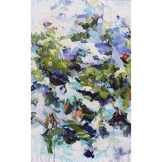 "Karen Silve In Verdon ""In Verdon"" 2016 acrylic on canvas 68 x 42 inches"
