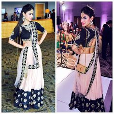 Mouni Roy is fabulous. Her outfits are always amazing!