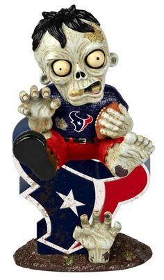 Houston Texans Resin Thematic Zombie Figurine