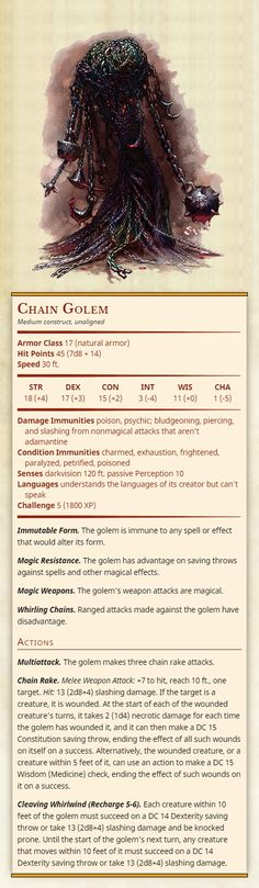 bludgeoning, piercing, and slashing from. Dungeons And Dragons Rules, Dungeons And Dragons Classes, Dnd Dragons, Dungeons And Dragons Characters, Dungeons And Dragons Homebrew, Dnd Characters, Monster Book Of Monsters, Cool Monsters, Dnd Monsters