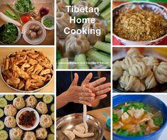 Tibetan Food: A Visual Guide - YoWangdu Experience Tibet Momo Sauce Recipe, Chicken Momo Recipe, Indian Food Recipes, Whole Food Recipes, Ethnic Recipes, Butter Tea Recipe, Veg Pie, Momos Recipe, Warm Food