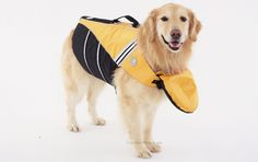 Life Jacket with Attachable Head Support by Doggles