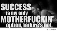 """""""when you want success as much as you want to breathe. Then you will become successful"""""""