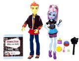 Mattel BBC82 Monster High - Classroom Partners - Abbey Bominable and Heath Burns