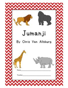 This 34-page workbook includes the following:- Authors purpose- Genre- What is Jumanji? Discussion Worksheet- 3 Pre-Reading tasks- Vocabulary match, ABC order, fill in the blank activities for 30 words- True or False- Fact or Opinion- 20 Comprehension Questions- Sequencing Activity- Summarizing- Storyboard- Story Map- Letter Writing- Character Sketch- Make Your Own Jumanji Game Board Reading Comprehension Test (Includes an instruction sheet and brainstorming activity)- Book vs Movie compare…