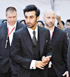 Kapoor looks dapper in suit as he walks the red carpet of the inaugural of India Film Awards in Vancouver, Canada Shraddha Kapoor, Ranbir Kapoor, Priyanka Chopra, Deepika Padukone, Bollywood Actors, Bollywood Celebrities, Bollywood Love Quotes, Rishi Kapoor, Sushant Singh