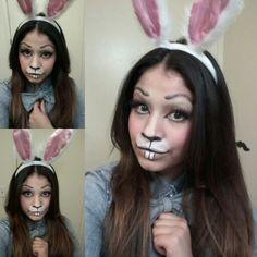 Bunny Makeup/ Halloween Makeup
