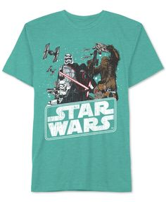 Star Wars Boys' The Force Awakens Characters T-Shirt