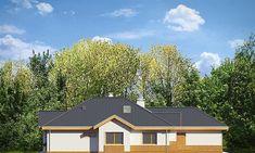 Landscaping Ideas Around Patio Key: 2705420794 Precast Concrete, Concrete Wall, Bungalow, Luxury Landscaping, Landscaping Ideas, Classical Architecture, Design Case, Small House Plans, Solar Panels