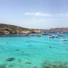 Blue Lagoon, Malta ☀️ 🏝#malta #malta🇲🇹 #maltaphotography #maltagram #summervibes #summer #summertime #summertimes #bluelagoon #comino #cominomalta Malta Malta, Blue Lagoon, Summer Vibes, Summertime, Water, Instagram Posts, Photography, Outdoor, Gripe Water