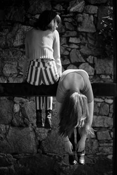 black & white | stripe | pants | fall | hang | friends | friendship | hanging out | photography | cool | wasting time