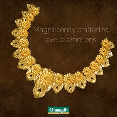 Amplify your style with attractive gold necklaces Buy Now : https://www.chungathjewellery.com/gold/necklace