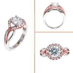 Gorgeous!!!  Love the rose-gold details! Come check it out! @ www.quinnsgoldsmith.com