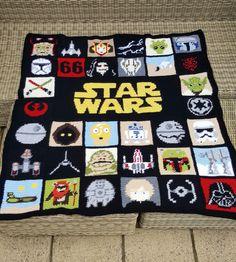 Star Wars granny blanket