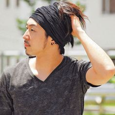 Casualbox Mens Womens Headband Hair Band Silky Texture Pattern Twisted Design