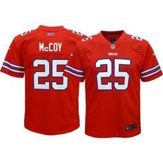 Nike Youth Color Rush 2017 Game Jersey Buffalo LeSean McCoy #25, Size: Medium, Team
