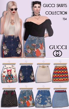 High Waisted Skirts II Female Teen - Young - Adult - Elder HQ Mod compatible You need the mesh too DOWNLOAD! (Sim File Share) DOWNLOAD! (Mediafire)