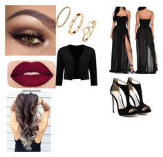 """Untitled #137"" by elesedunn on Polyvore featuring Smashbox and Boohoo"