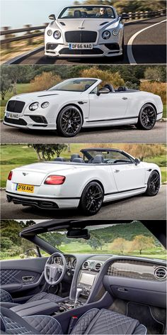 2018 Bentley Continental Supersports Convertible || W12, 710 bhp, top speed - 330 km/h, 0-100 km/h - 3.9 sec.
