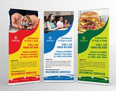 """Check out new work on my @Behance portfolio: """"Dynamic Tools Roll-Up Banners"""" http://be.net/gallery/33782248/Dynamic-Tools-Roll-Up-Banners"""